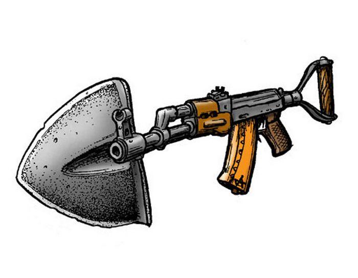 10 Нестандартных образцов огнестрельного оружия