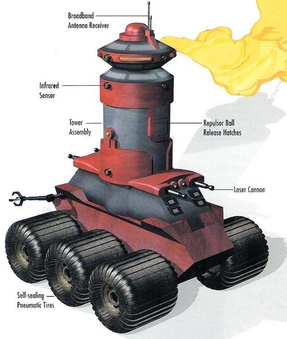 10 Самых неправдоподобных танков звёздных войн