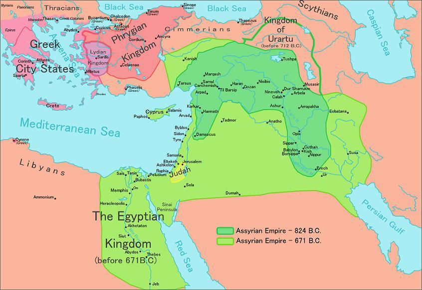 Ассирийская армия в классический период