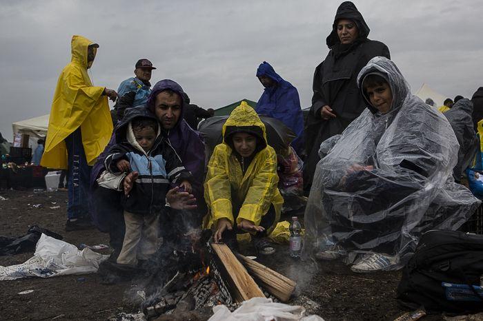 Беженцы: европа все более разделена