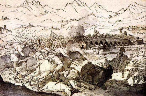 Бой у вапио и поццо. боевые действия 16 и 17 апреля