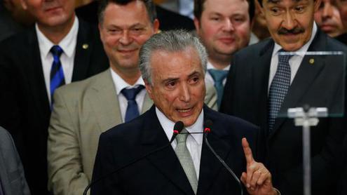 Бразилия получила «временную» власть