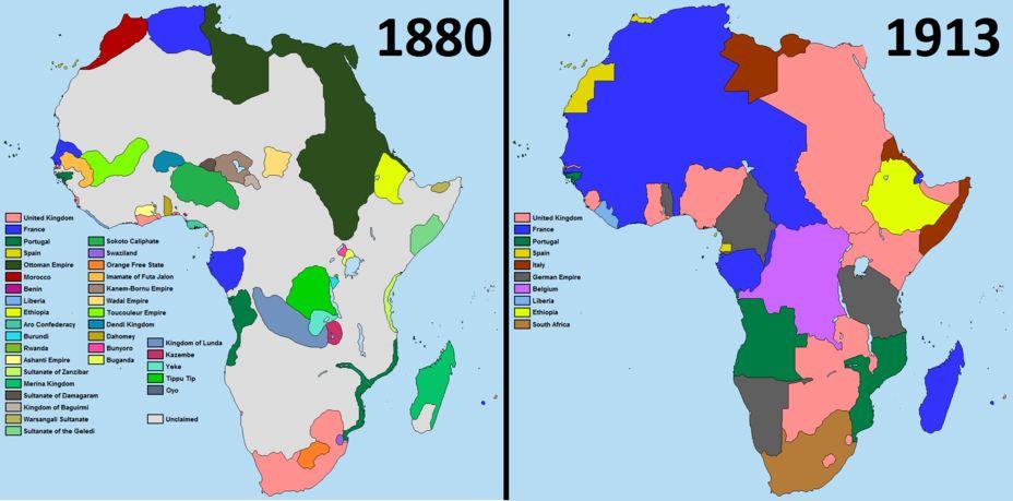 Драка за африку