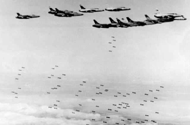 Дуэли ковровых бомбардировок второй мировой