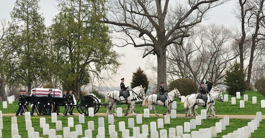 Фото дня: арлингтонское национальное кладбище