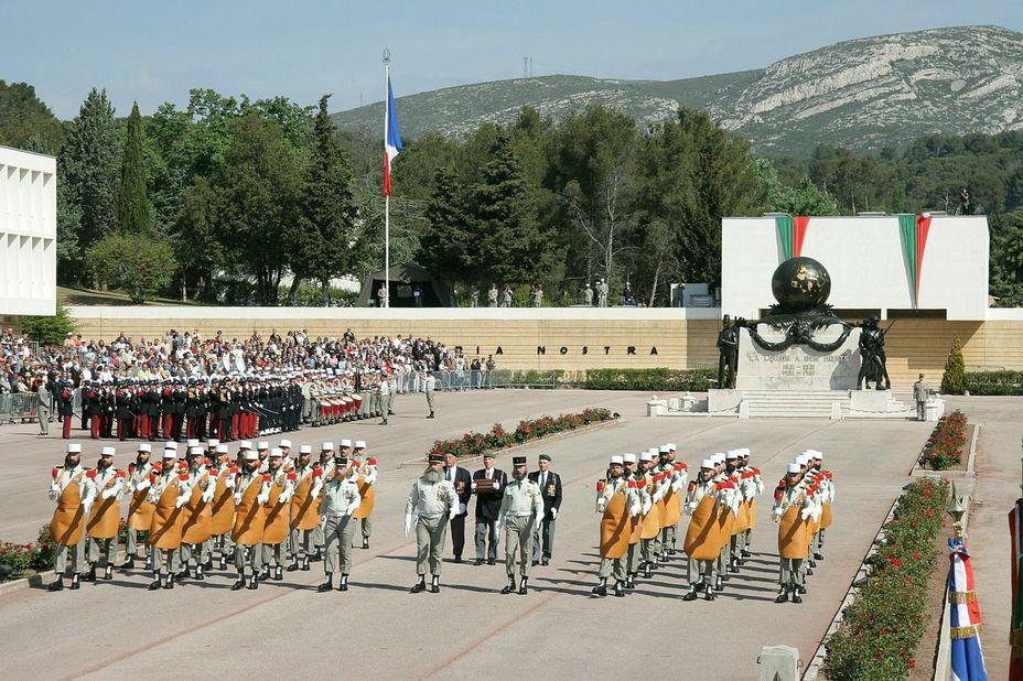Фото дня: день славы иностранного легиона