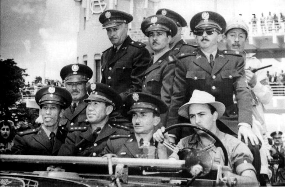 Фото дня: гватемальская хунта