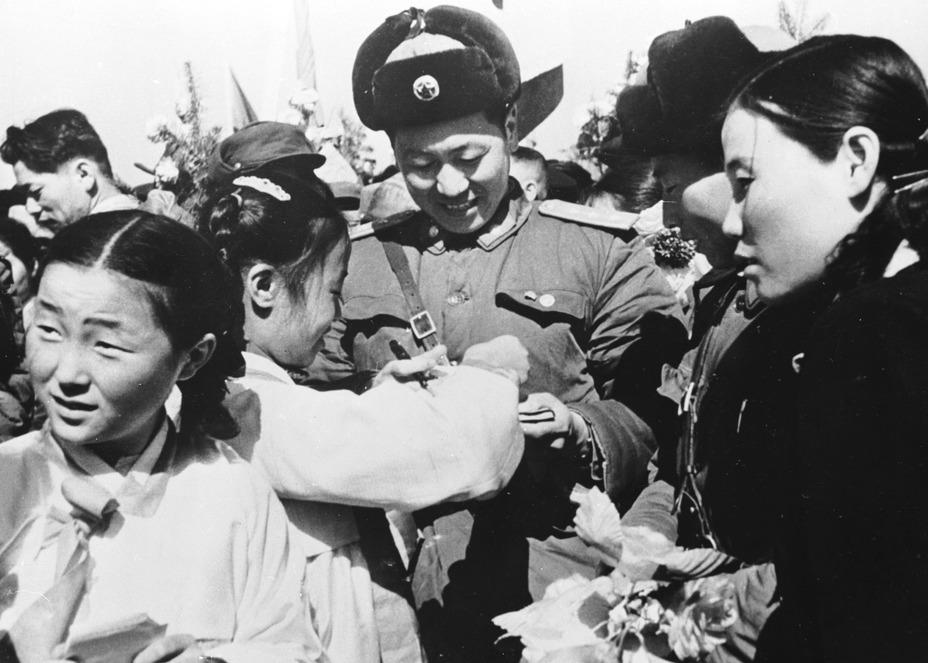 Фото дня: китайские народные добровольцы