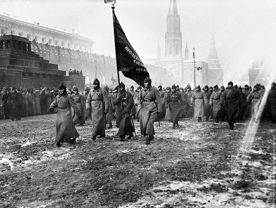 Фото дня: красная площадь образца 1927 года