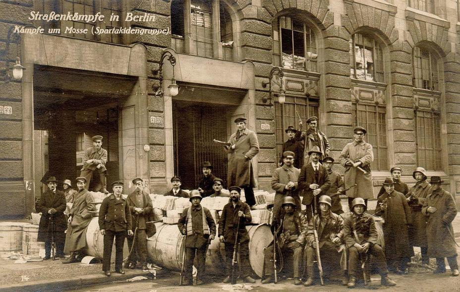 Фото дня: неудавшаяся кульминация ноябрьской революции