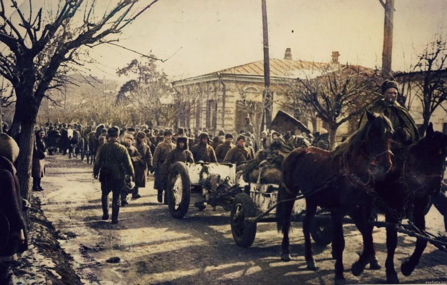 Фото дня: освобождение краснодара