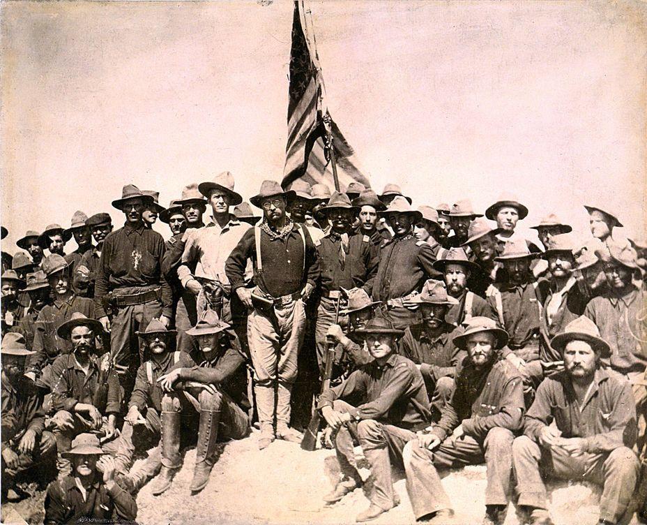 Фото дня: пешие всадники полковника рузвельта