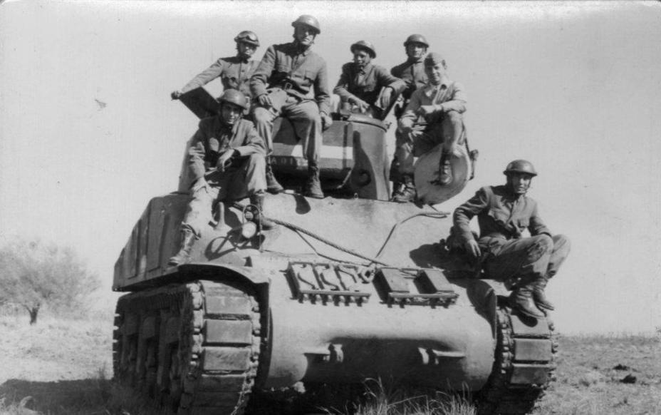 Фото дня: танкисты из страны танго