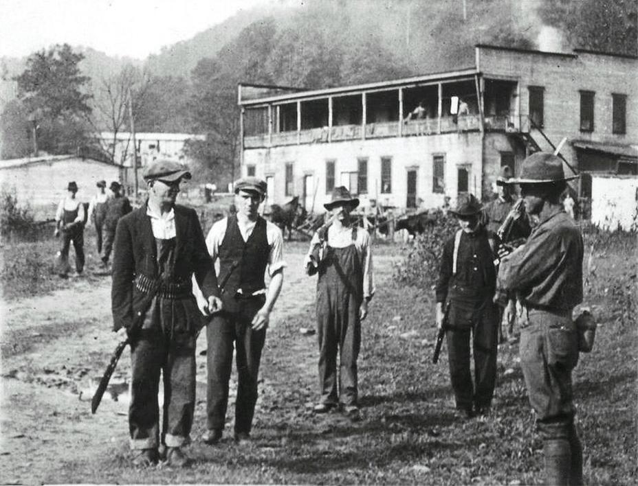Фото дня: восставшие шахтёры аппалачей