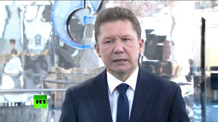 Газпром с 1.01.2009г. прекратил поставки газа в украину