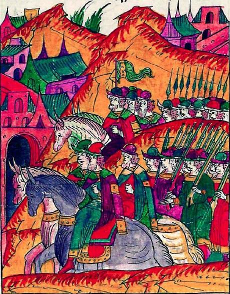 «Янычары» ивана грозного:начало боевого пути