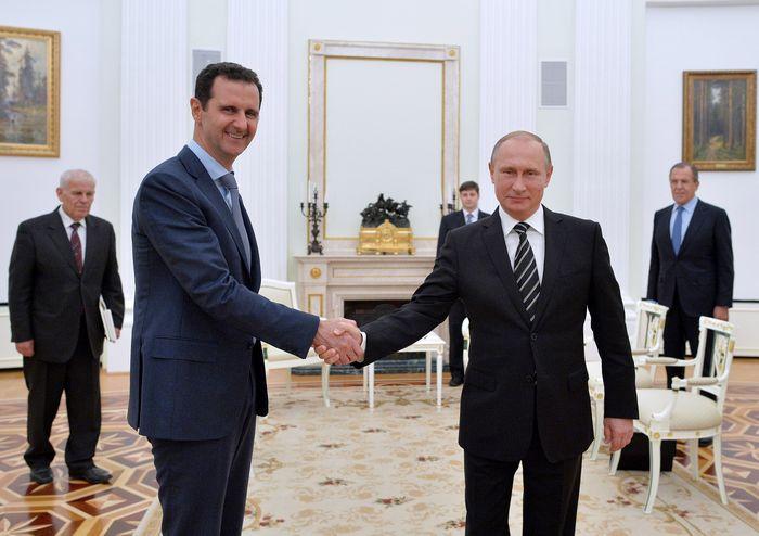 Керри просит помощи у путина на переговорах по сирии