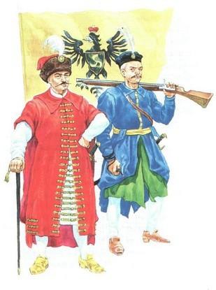 Милиция радзивиллов в xviii веке