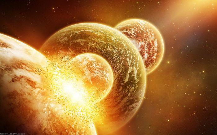 Начался конец света и невероятный парад планет 2012