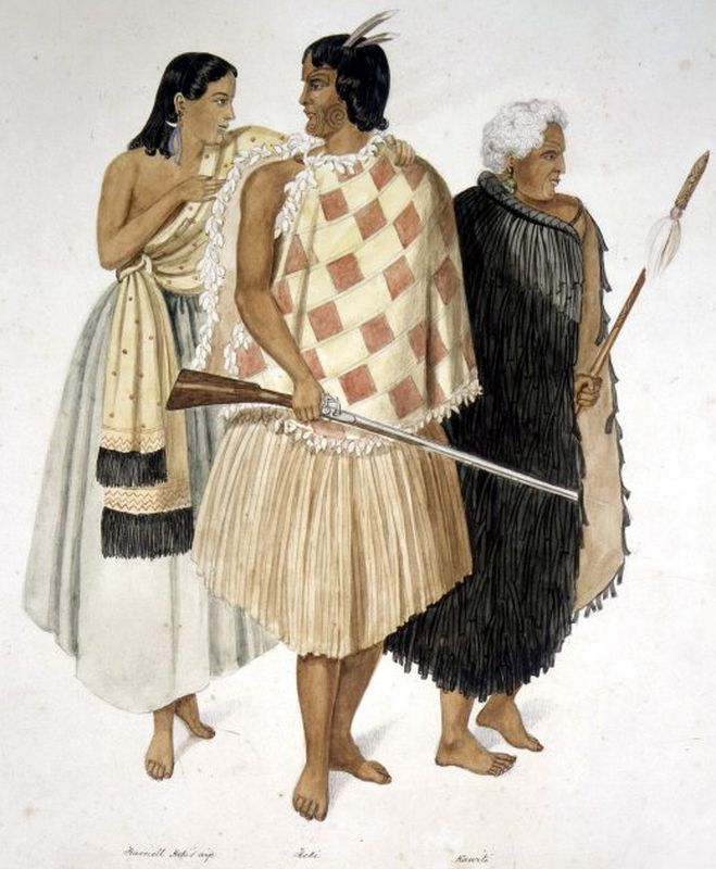 Нгати туматауэнга, племя бога войны