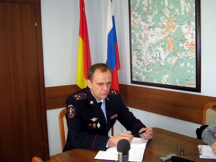 Новый начальник областного гаи юрий иванцов