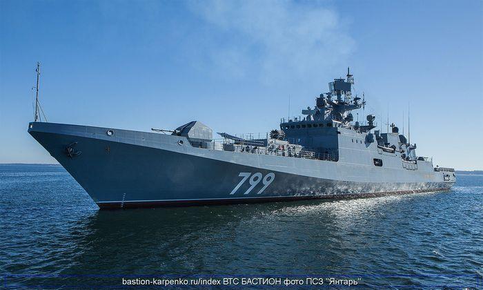 Новый российский фрегат начал госиспытания