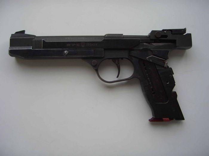 Оружейник чемпионов: новый пистолет хайдурова
