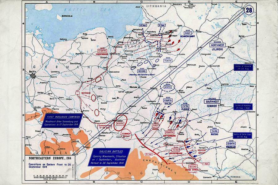 Первая мировая на русском фронте