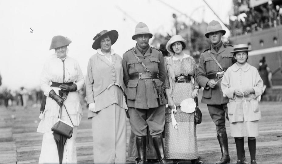 Первый полководец австралии