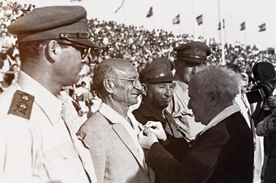 Первый руководитель израильского генштаба