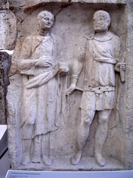 Походно-полевые жёны римской армии
