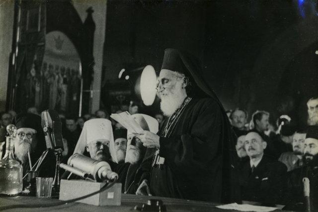 Поместный собор 1945 г. и положение об управлении русской церкви