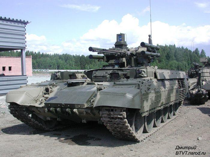 Противопехотный комбайн: боевые машины поддержки танков