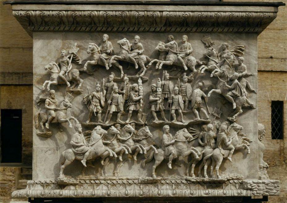 Римская армия в походе
