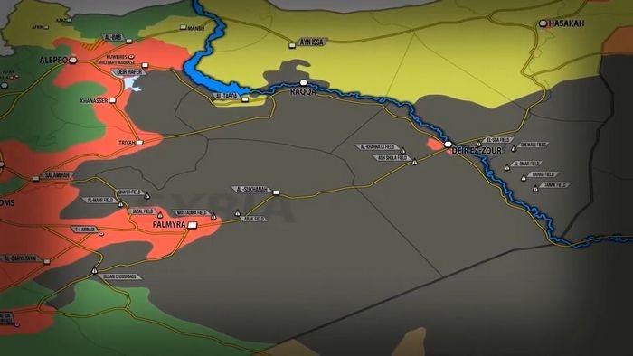 Россия и cшa соперничают за позиции в сирии