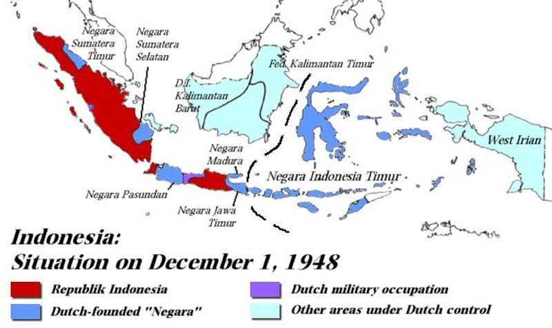 Рождение индонезии: победа над федерализацией