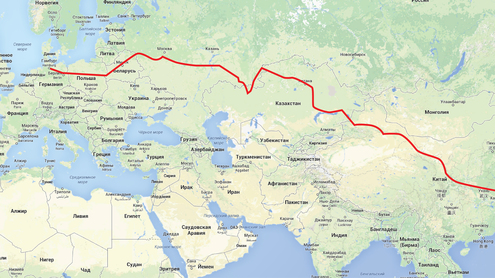 Шелковый путь из европы в китай — не только товары, но и люди
