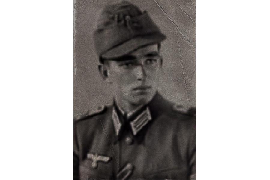 Солдат «дивизии кавалеров железных крестов»