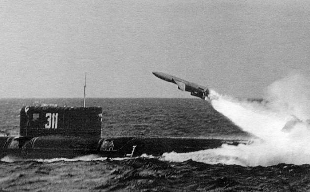 Советская стратегическая сверхзвуковая ракета метеорит