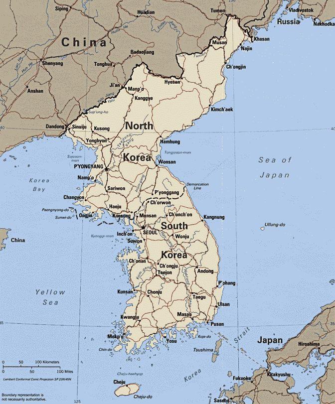 Средневековая корея: феномен разделённости