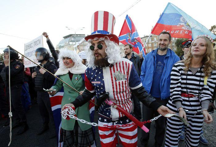 Сша признали независимость донбасса от украины