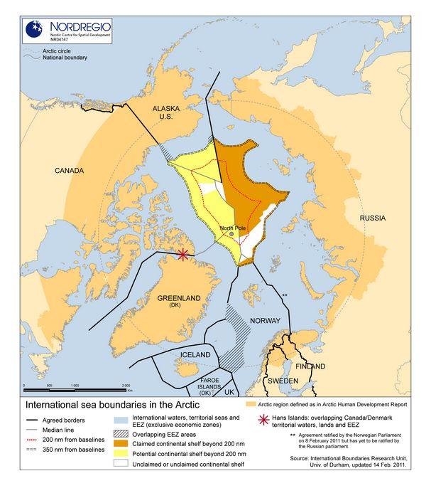 Сша заявили, что россия начала захват арктики