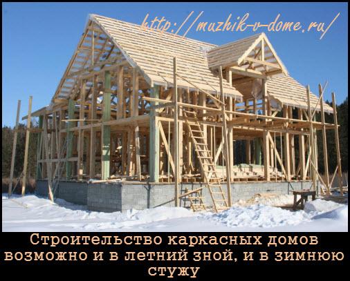 Строительство каркасных домов: основные преимущества