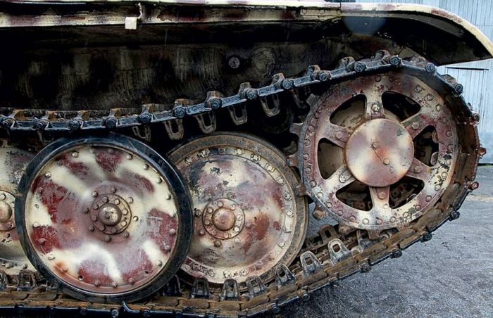 Тест-драйв танка пантера