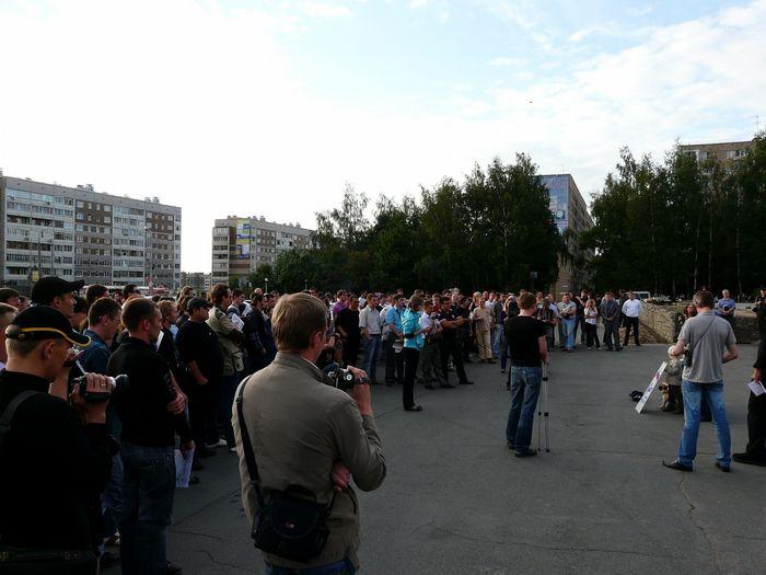 В ижевске протестуют автомобилисты