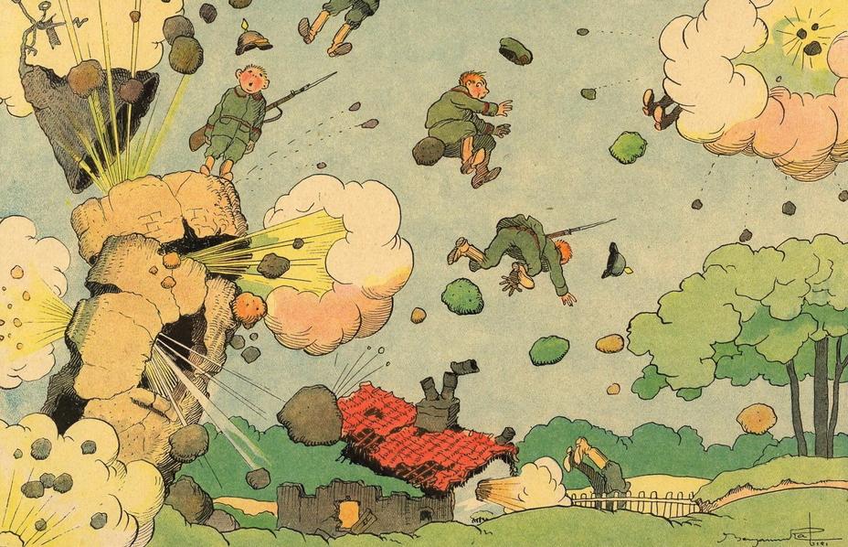 Война в цветных картинках