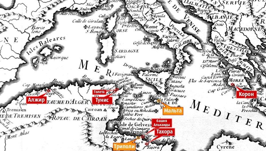 Война в срединном море: карл v против хайреддина барбароссы