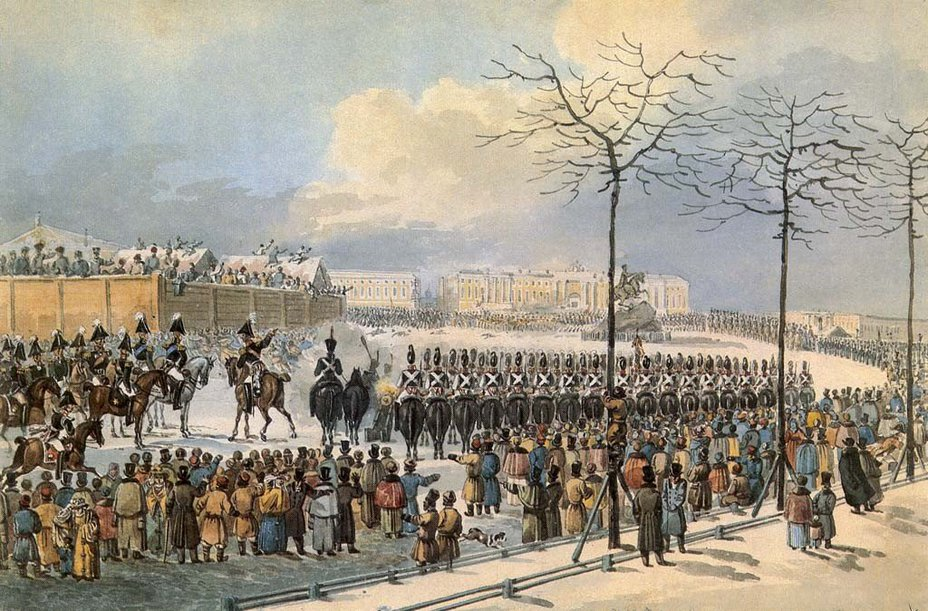Восстание на сенатской площади: проигрыш романтиков