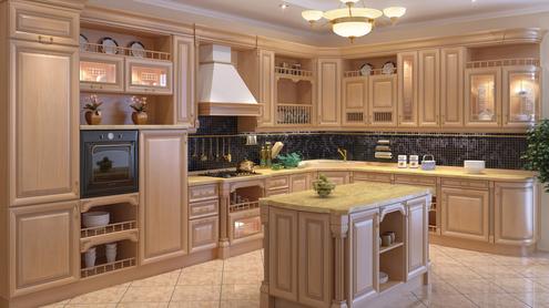 Встроенная кухня flash nika