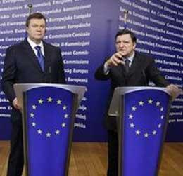 Заявления баррозу и януковича по итогам встречи в брюсселе
